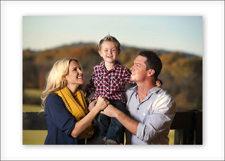 A custom family portrait session in Alpharetta with Spoiled Rotten Photography.