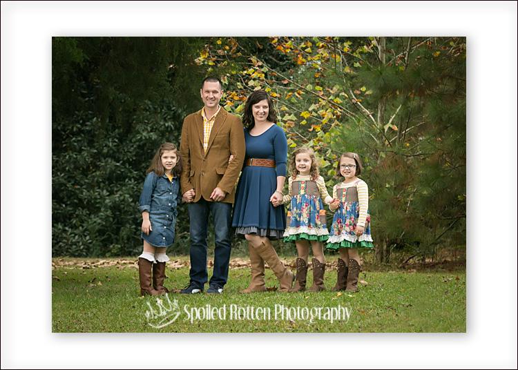 Fall Family Poses