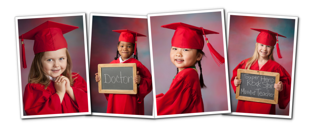 Little Graduates Session (Cap and Gown) | Spoiled Rotten Photography