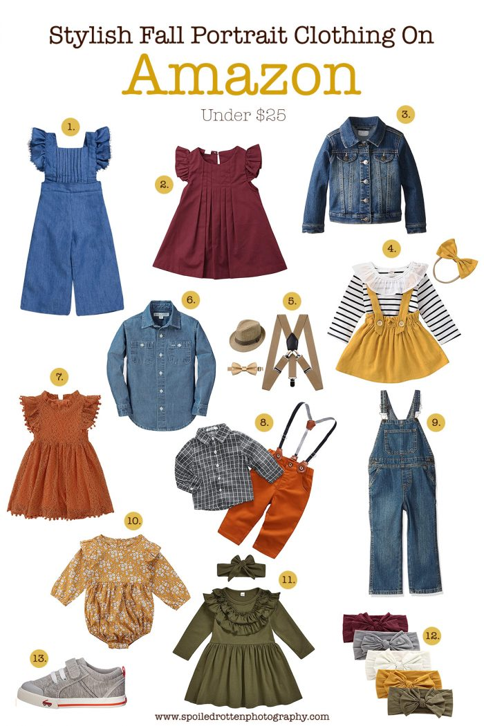 Stylish Fall Portrait Clothing