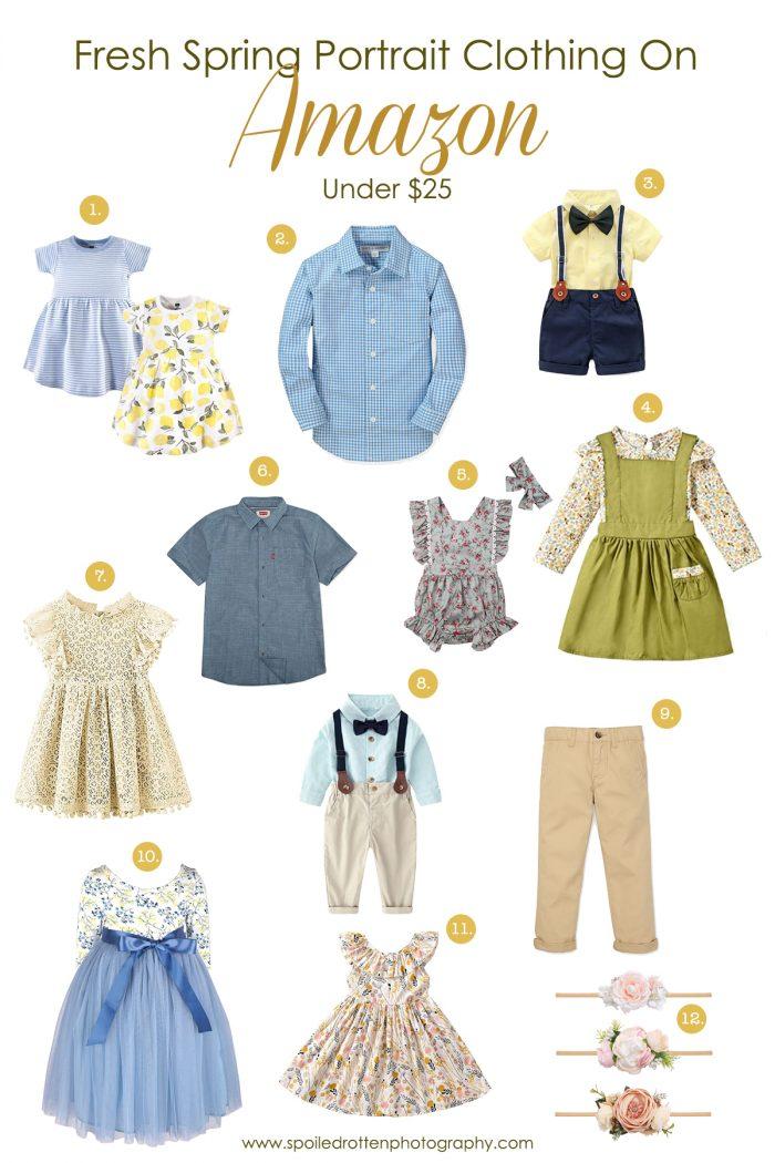 Fresh Spring Portrait Clothing